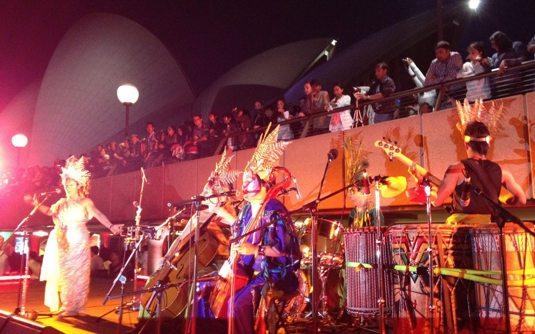 Gaia Rhythm NYE at Sydney Opera House