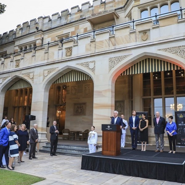 Invictus Games Royal Reception Government House