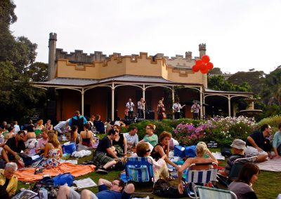 Jazz In The Gardens Vaucluse House