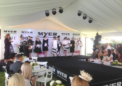 Myer fashion on The Field Randwick Racecourse