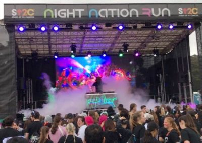 Night Nation Run Sydney Domain