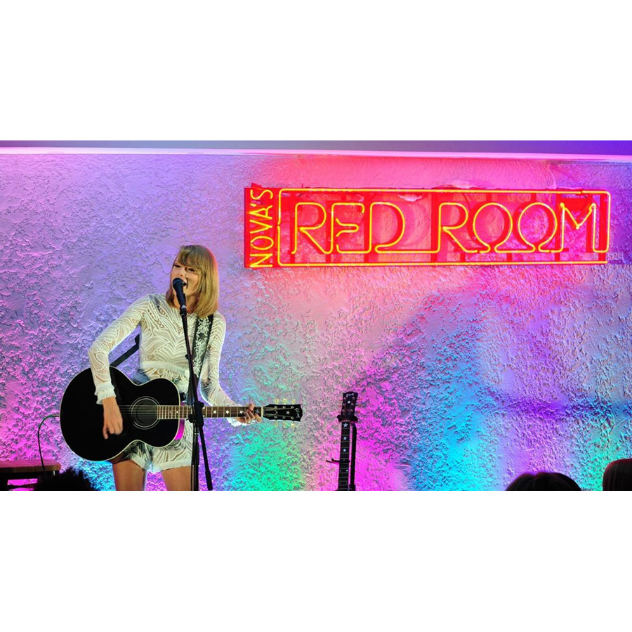 Taylor Swift Hamilton Island Nova FM Red Room Exclusive