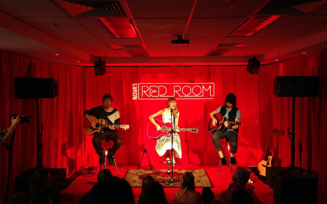 Taylor Swift in Nova FM's Red Room